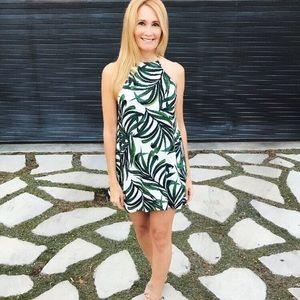 SMYM Byron Dress Peruvian Palm Breeze